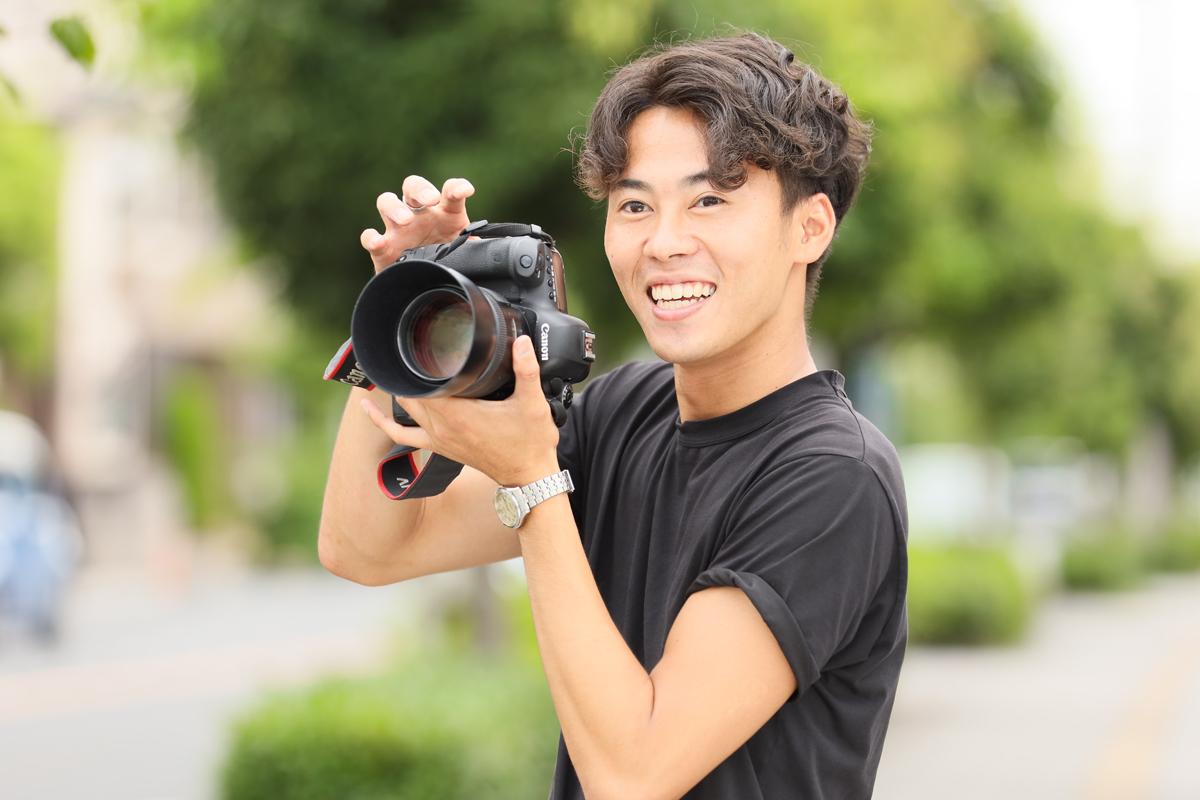 ちゃん カメラマン ー お